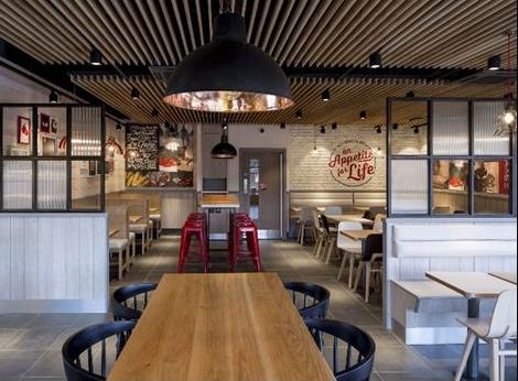 KFC'S RADICAL INTERIOR CHANGE, A BIG STEP