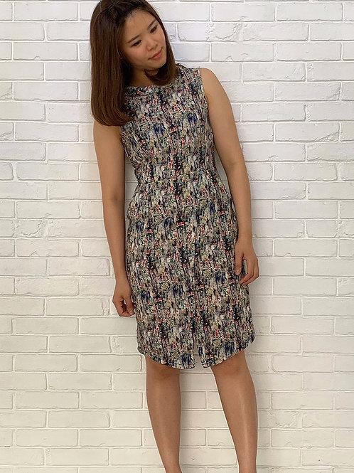Missy Fleur Printed Dress