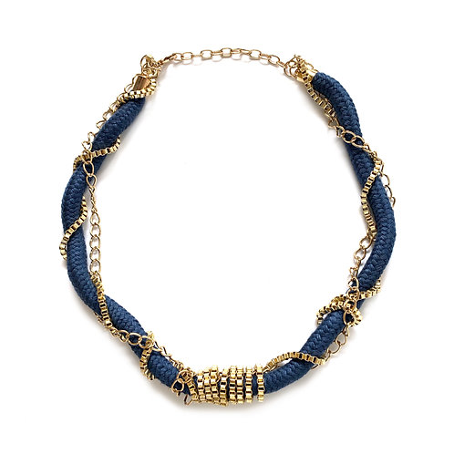 Coiled Chain Necklace