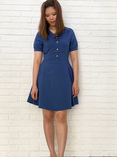 Lumiere Bleu Dress