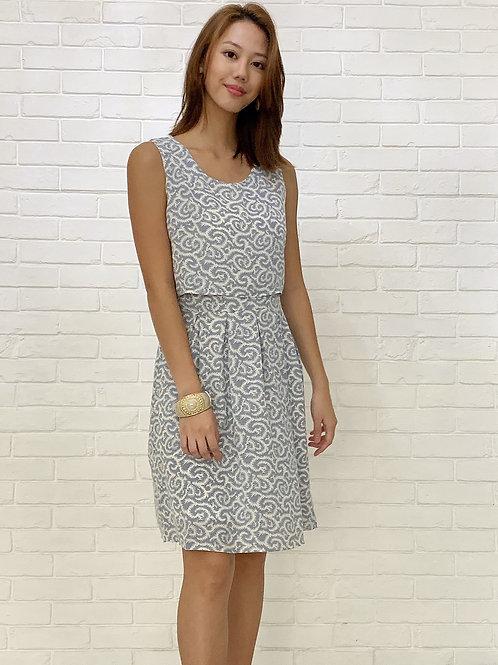 Azure Blue Dress