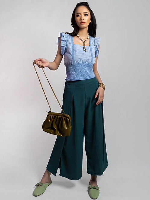 O' Teally Flare Pants in Teal
