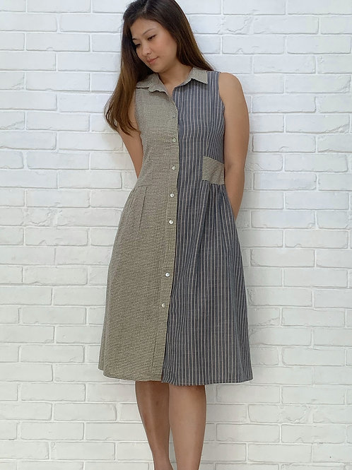 Oki Patched Dress