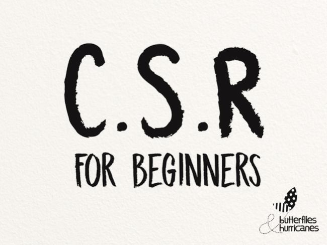 C.S.R. For Beginners
