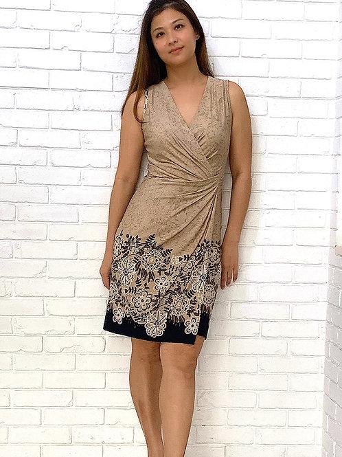 Natania Bodycon Wrap Dress