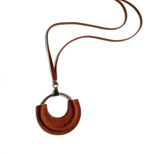 Toffee Leather Necklace