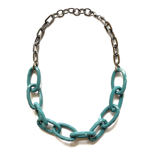 Resin Chain-link Necklace