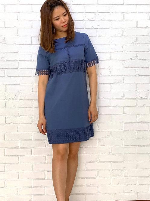 Tassel Linen Dress