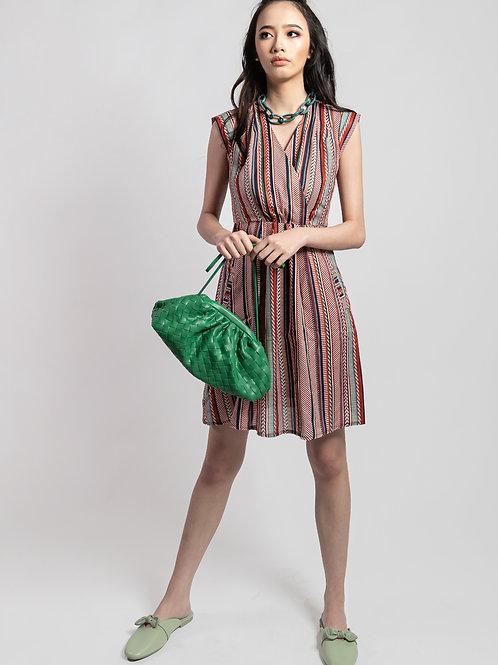 Akara Multi-Striped Dress