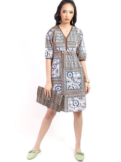 Shailey Ethnic Printed Dress