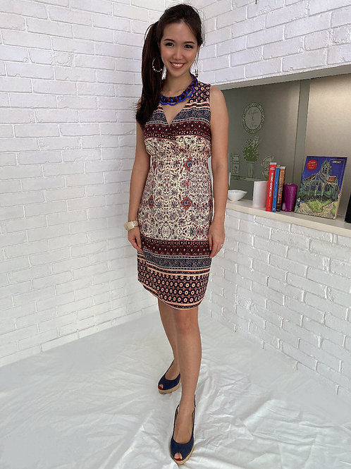 Tunisa Printed Dress