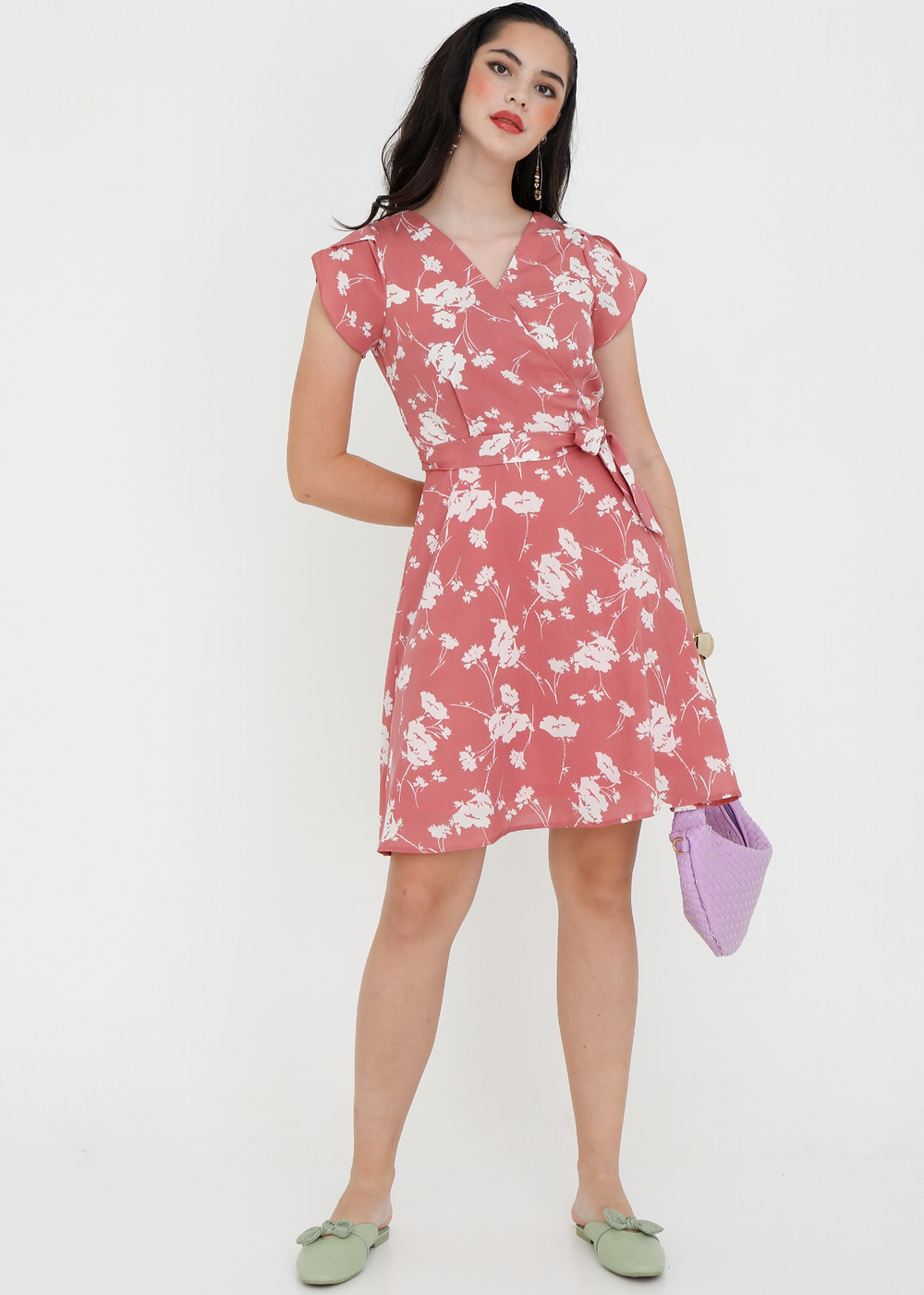 printed casual dress for women