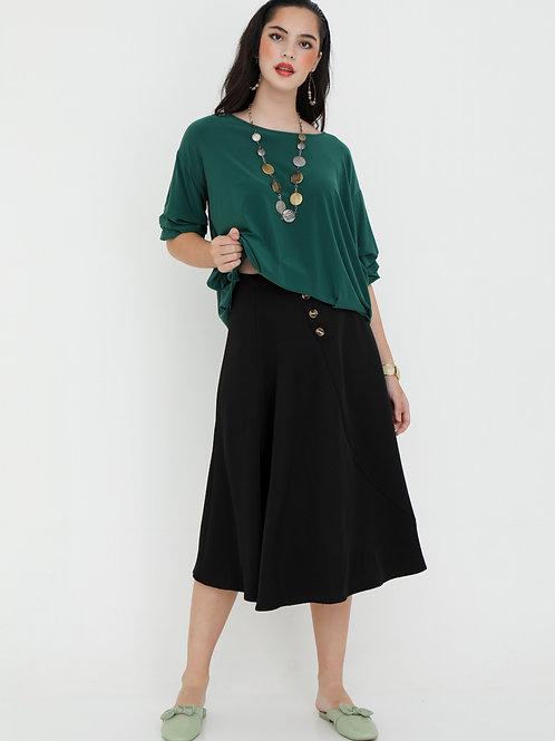 Vikki Flare Skirt in Black