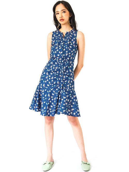Diays Blue Printed Dress