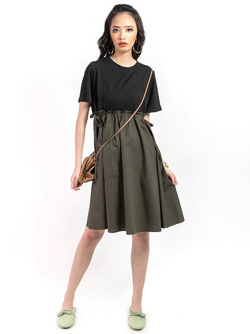 Becky Two-Toned A Line Dress