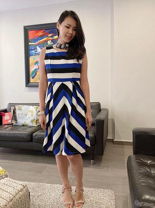 Sheiley Striped Dress