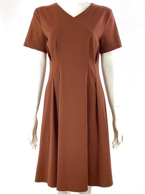 Annette Brown Dress.
