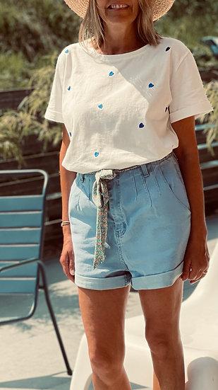 Short en jean Louka