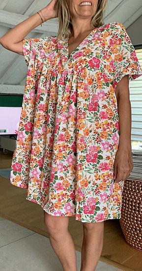 Robe à fleurs Alma