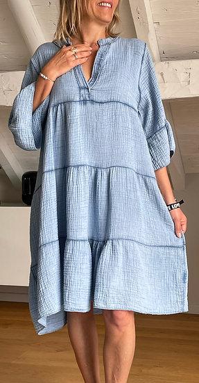 Robe bleue Mika
