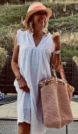 Robe blanche Léa