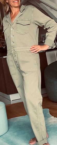 Combinaison pantalon kaki