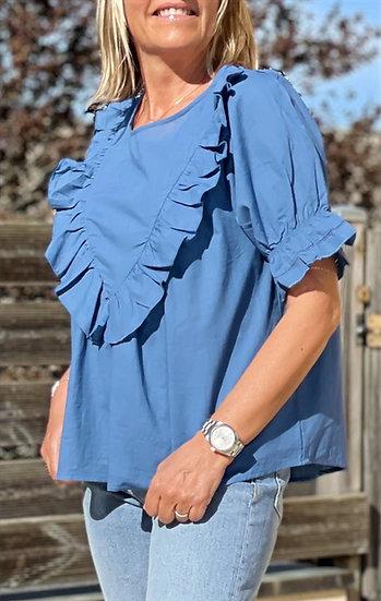 Blouse bleue Nina