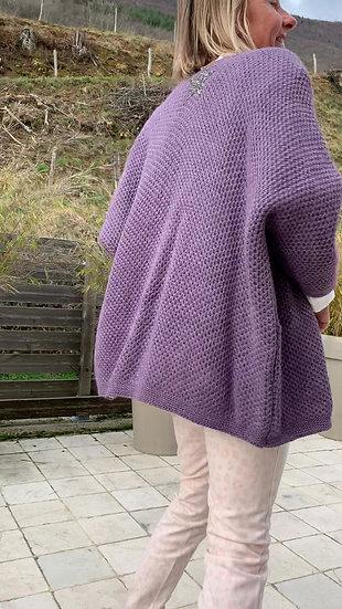 Gilet violet Izzy