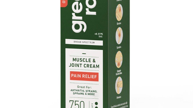 Muscle and Joint Cream 750mg