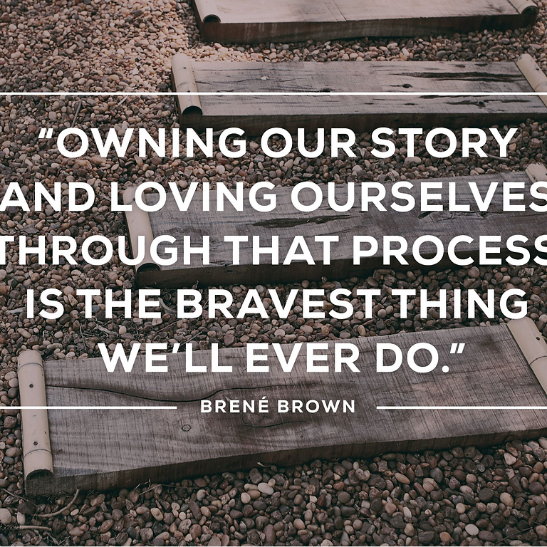 Rising Strong™, based on the Research of Brené Brown