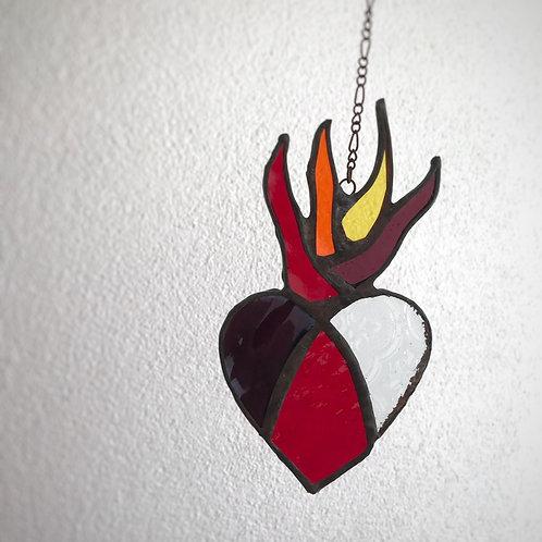Vitral corazón