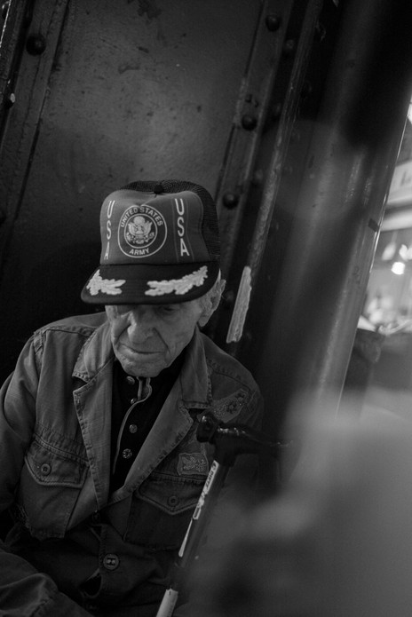 Old US Soldier, Nagycsarnok, Budapest. August 30, 2014.jpg