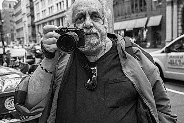 Street Photographer, New York. October 1