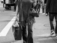 Stylish Woman, New York. October 18, 201