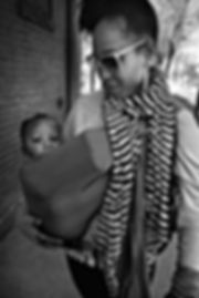 Mother and child, Atlanta. February 16,