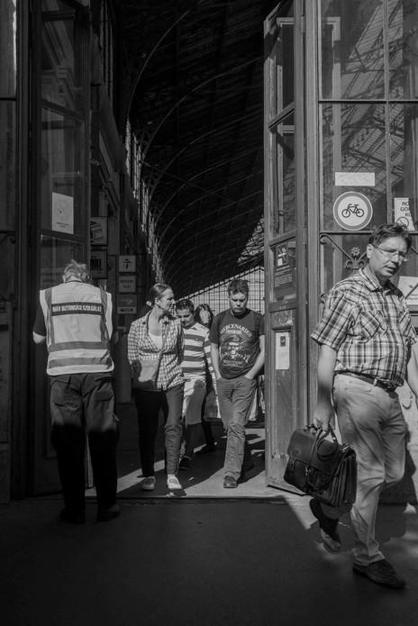 Leaving West Station, Budapest. August 24, 2014.jpg