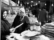 Woman shopping for bread, Istanbul.jpeg