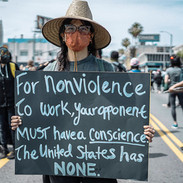For Nonviolence..., Los Angeles. May 30,