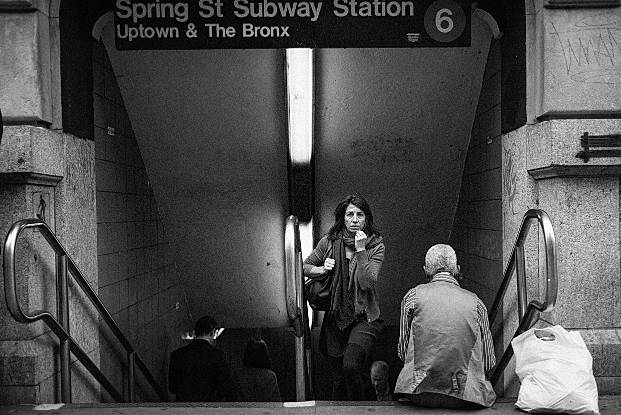 Spring St. Subway Station, New York. Oct