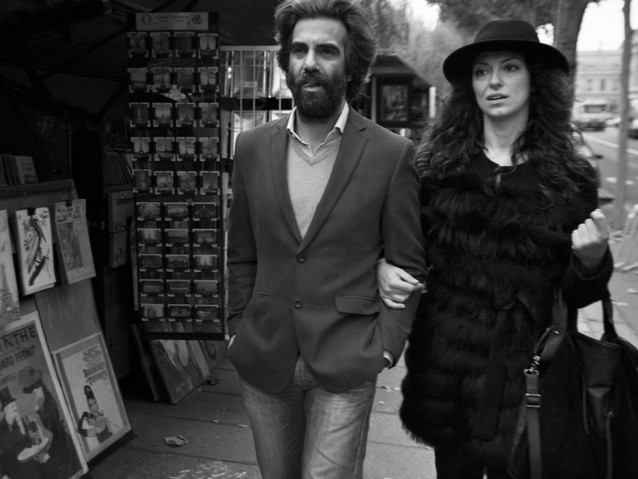 Parisian Couple, Paris. November 16, 201