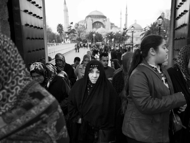 Woman, Hagia Sohphia.jpeg