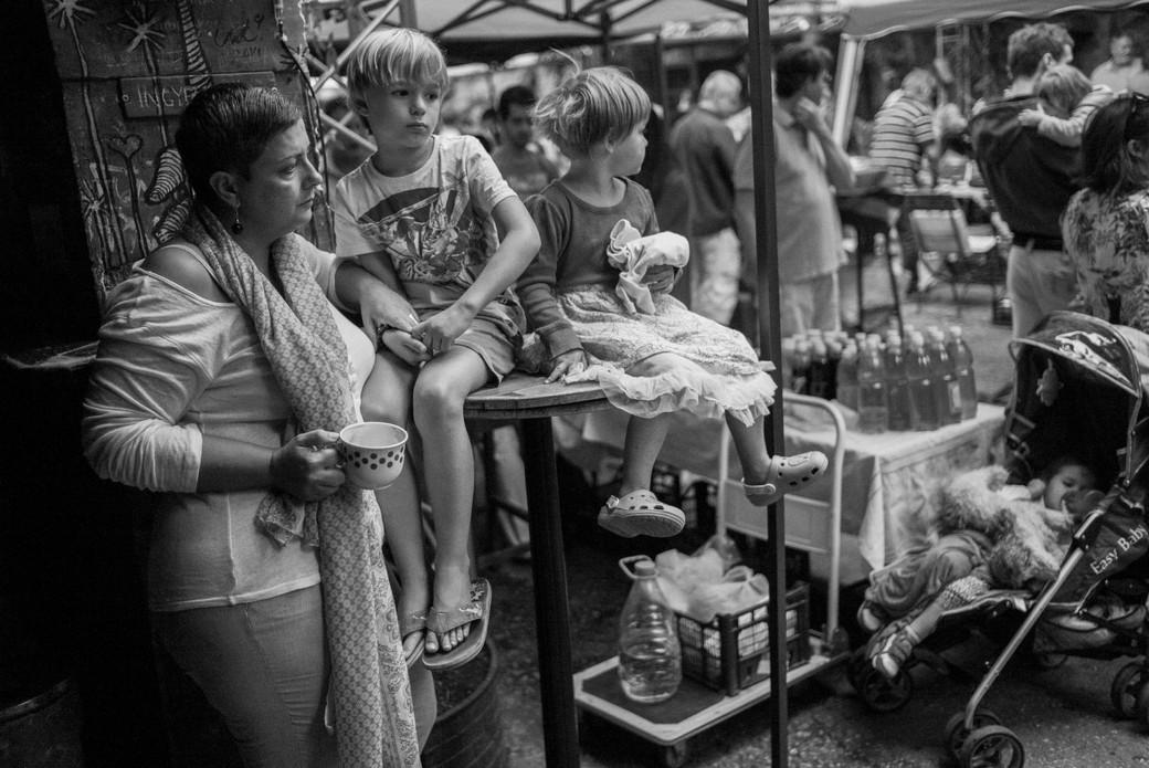 Sunday Market Family, Budapest. August 24, 2014.jpg
