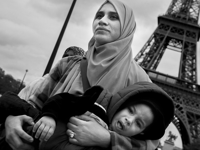 Eiffel Tower, Paris. November 25, 2013.j