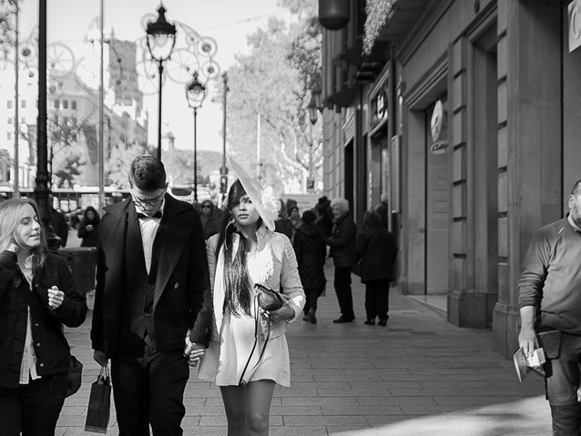 Married couple, Bareclona. November 22,