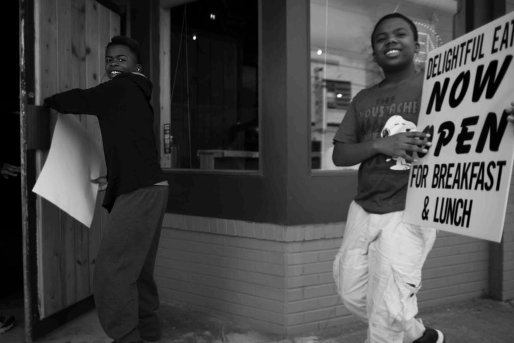 Two boys selling lunch, Atlanta. March 1, 2014.jpeg