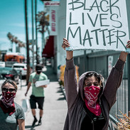 BLM - 3rd & Fairfax, Los Angeles. May 30