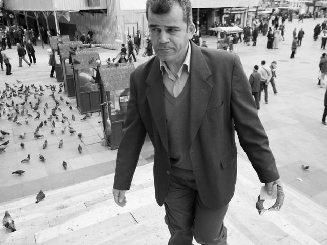 Man with bread, Istanbul..jpeg