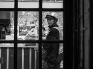Delivery Man, New York. October 26, 2014