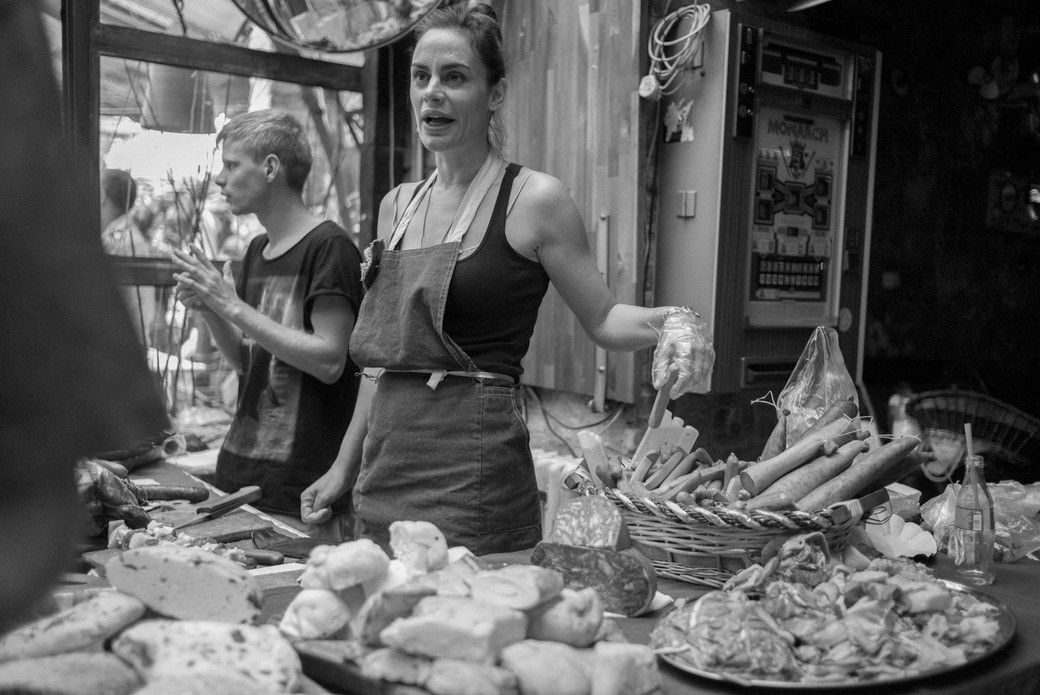 Selling Meats, Budapest. August 24, 2014.jpg
