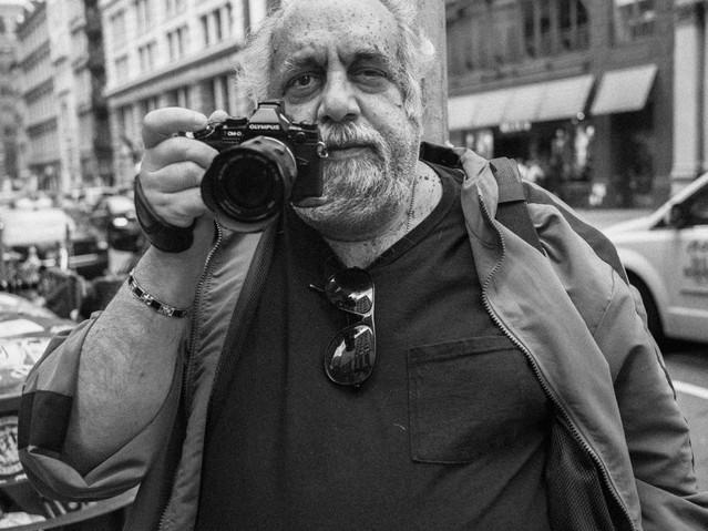 Street Photographer, New York. October 1